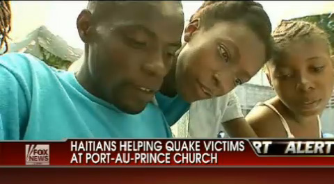 FoxNews video: Haitians Helping Haitians