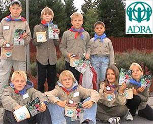 Speidere i hjelpeaksjon 2003